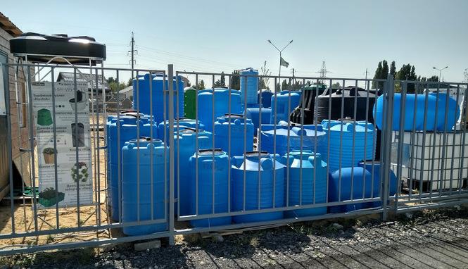 Пластиковые емкости в Липецке на Ангарской